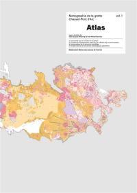 Monographie de la grotte Chauvet-Pont d'Arc. Volume 1, Atlas