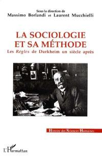 La sociologie et sa méthode