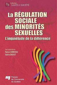 La régulation sociale des minorités sexuelles