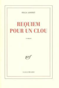 Requiem pour un clou