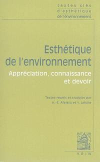Esthétique de l'environnement