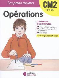 Opérations CM2, 10-11 ans
