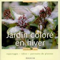 Jardin coloré en hiver