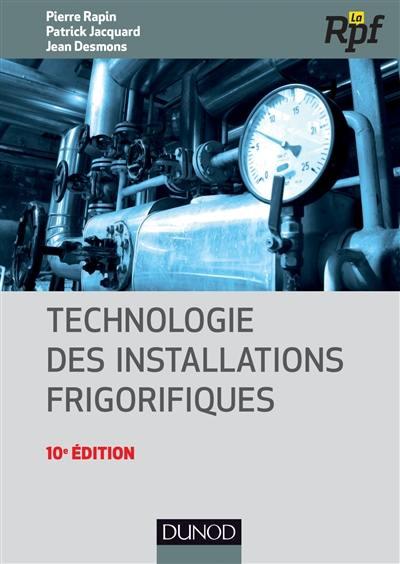 Technologie des installations frigorifiques
