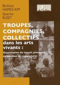 Troupes, compagnies, collectifs dans les arts vivants
