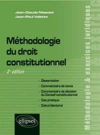 Méthodologie du droit constitutionnel