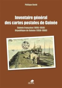 Inventaire général des cartes postales de Guinée