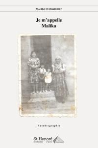 Je m'appelle Malika