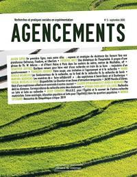 Agencements : recherches et pratiques sociales en expérimentation. n° 5,