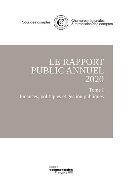 Le rapport public annuel 2020