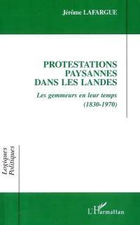 Protestations paysannes dans les landes
