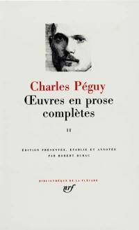 Oeuvres en prose complètes. Volume 2,