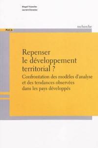 Repenser le développement territorial ?