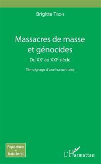 Massacres de masse et génocides