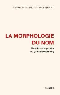 La morphologie du nom