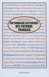Dictionnaire historique des patrons français