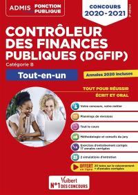 Contrôleur des finances publiques (DGFIP)