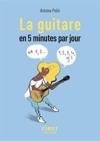 La guitare en 5 minutes par jour