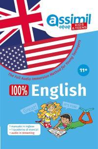 100 % English 11 +