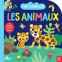 Les animaux : livre carrousel