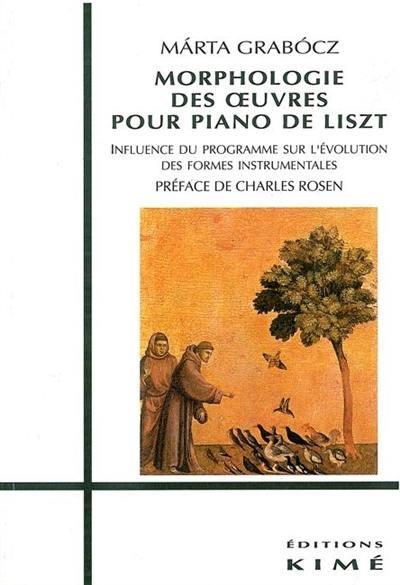 Morphologie des oeuvres pour piano de Liszt