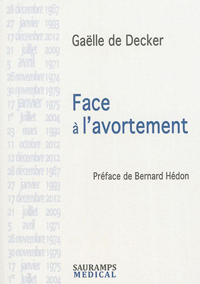 Face à l'avortement