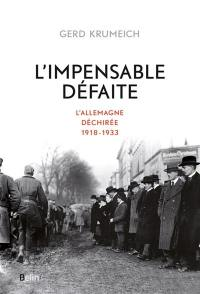 L'impensable défaite