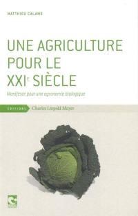 Une agriculture pour le XXIe siècle