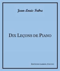 Dix leçons de piano