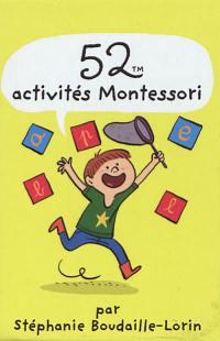 52 activités Montessori