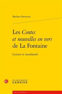 Les Contes et nouvelles en vers de La Fontaine