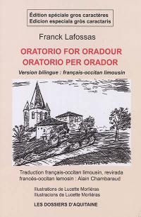 Oratorio pour Oradour = Oratorio per Orador