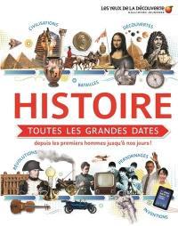 Histoire, toutes les grandes dates