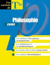 Cours philosophie terminale