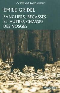 Sangliers, bécasses et autres chasses des Vosges