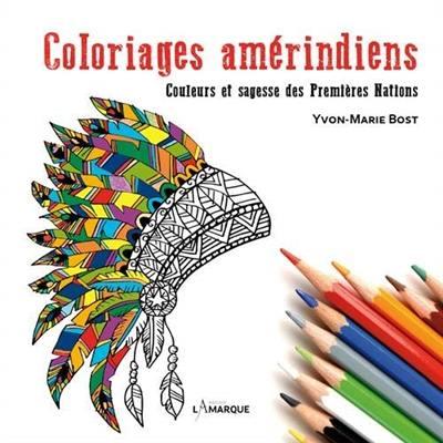 Coloriages amérindiens