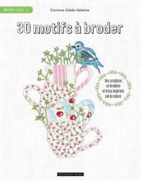 30 motifs à broder