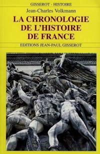 La chronologie de l'histoire de France