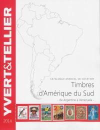 Catalogue de timbres-poste, Amérique du Sud