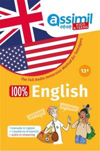 100 % English 13 +