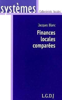 Finances locales comparées
