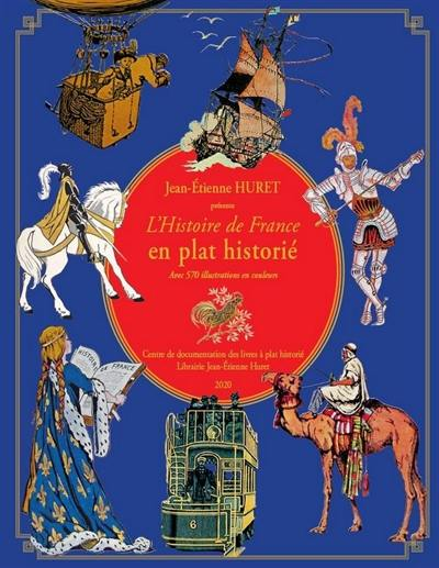 L'histoire de France en plat historié