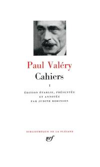 Cahiers. Volume 1,
