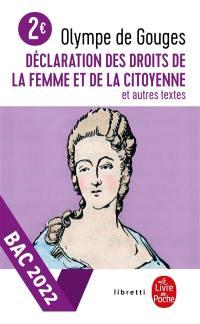 Déclaration des droits de la femme et de la citoyenne