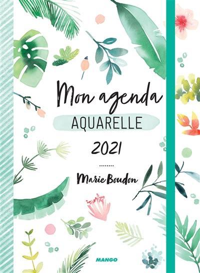Mon agenda aquarelle 2021