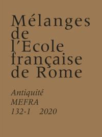 Mélanges de l'Ecole française de Rome, Antiquité. n° 132-1, Le projet ANR Caecina
