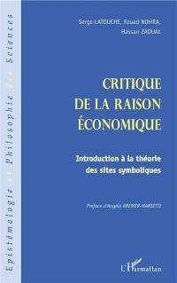 Critique de la raison économique