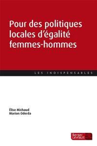 Pour des politiques locales d'égalité entre les femmes et les hommes