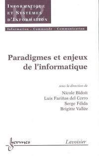 Paradigmes et enjeux de l'informatique