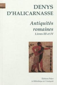 Antiquités romaines. Volume 2, Livres 3 et 4
